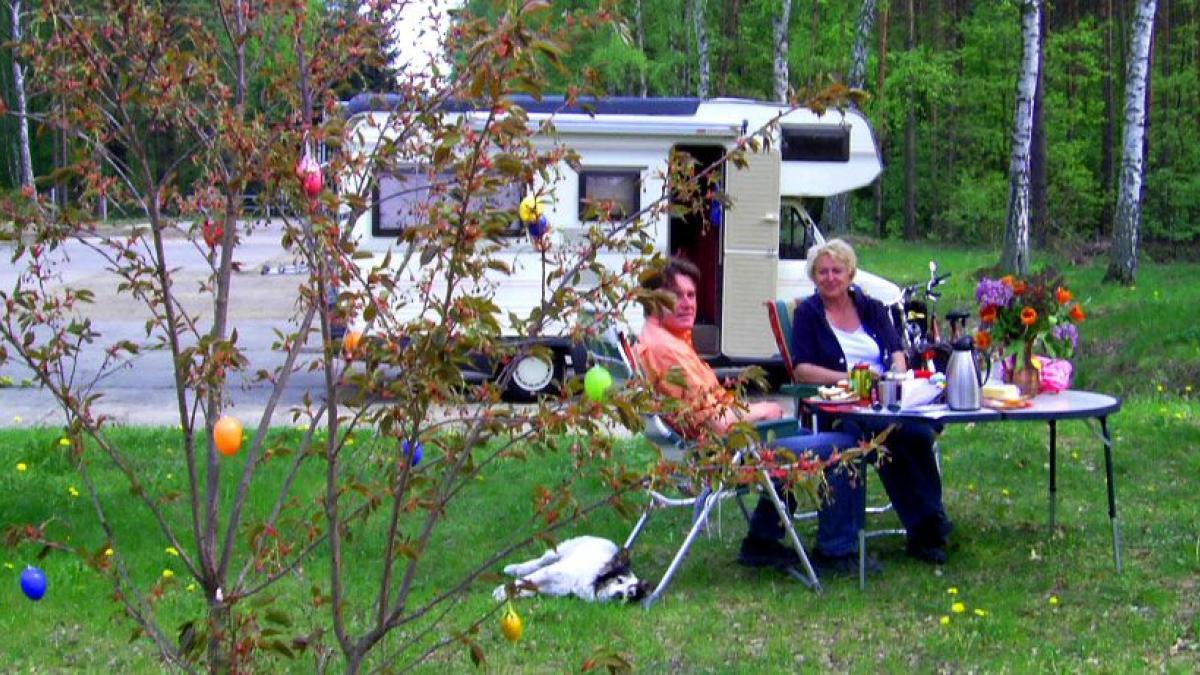 Camping Ostern Angebot Ecktannen Waren Müritz Mecklenburg Urlaub Familie
