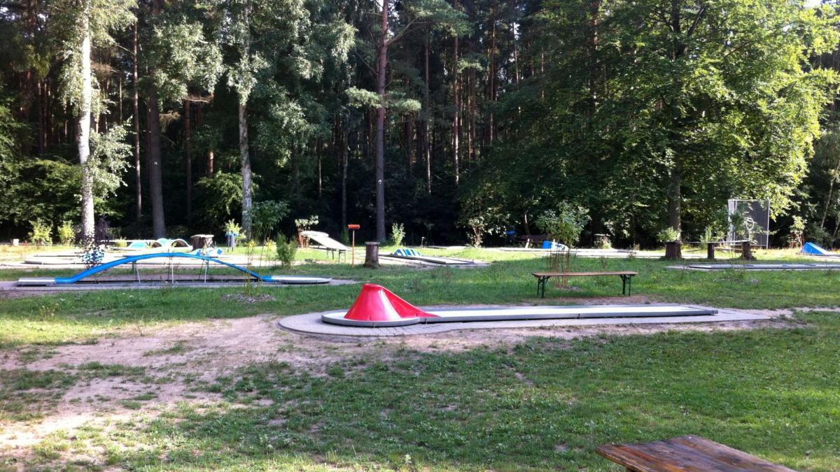 Minigolf Campingplatz Ecktannen Waren Freizeit