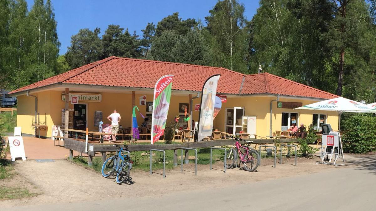 Campingplatz Ecktannen Bistro Minimarkt Essen Trinken kaufen