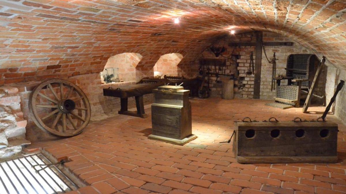 Alte Burg Penzlin Folterkeller