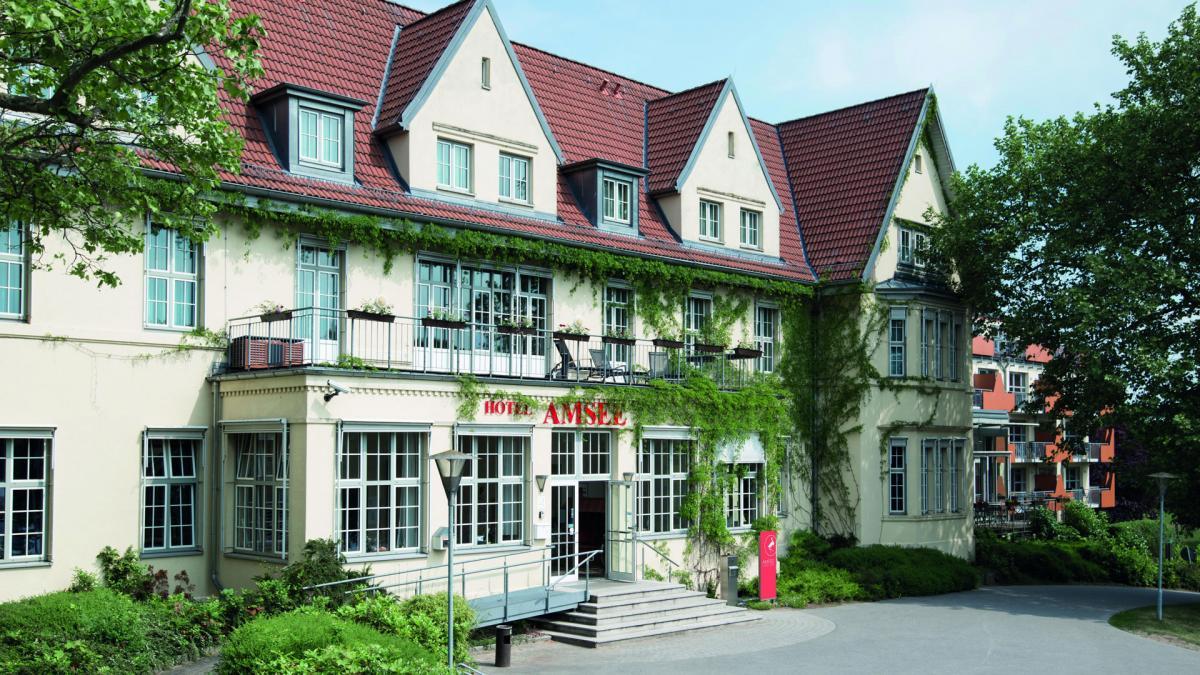 Außenansicht - SPA Hotel Amsee